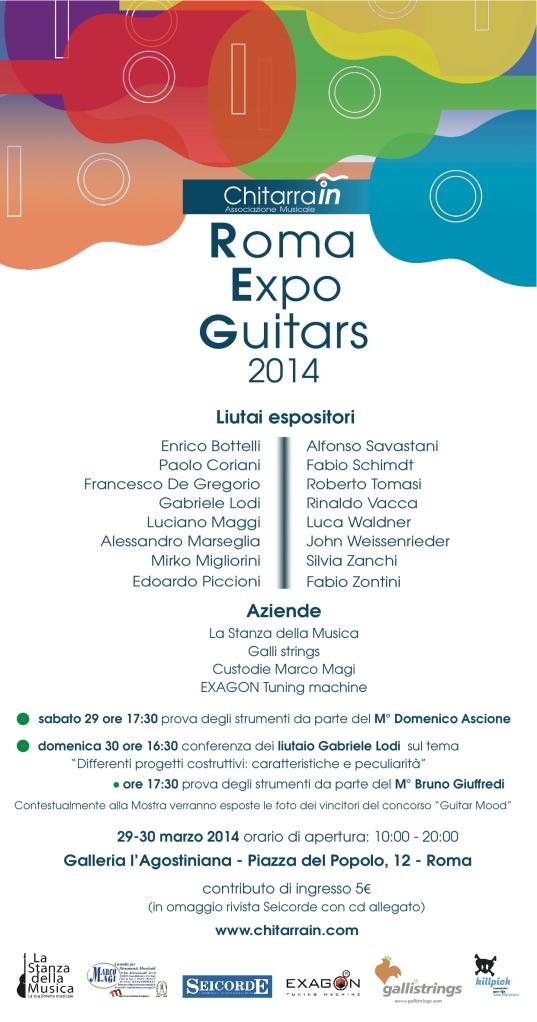 Roma Expo Guitars 2014