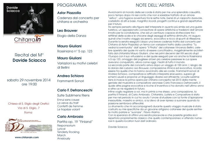 note dell'artista copia