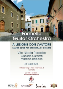 Formello Guitar ensamble