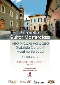 Formello Guitar FestivaMasterclass